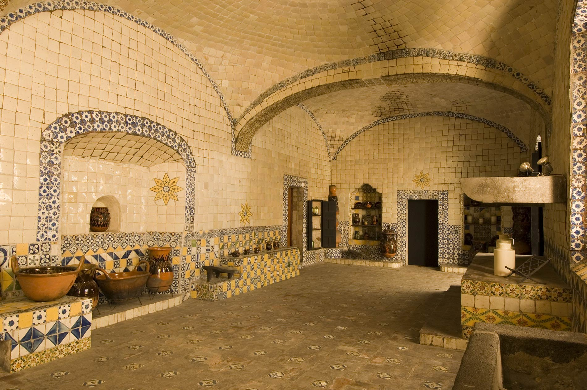 Kitchen of the Convent of Santa Rosa
